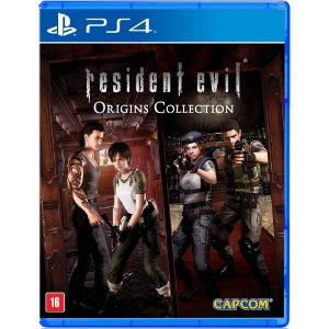 Resident Evil Origins: Collection (Seminovo) - PS4