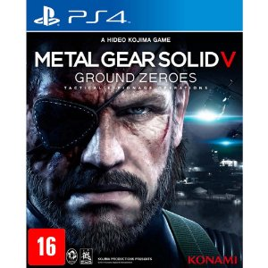 Metal Gear Solid: Ground Zeroes (Seminovo) - PS4
