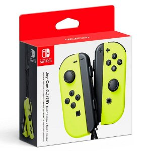 Controle Joy Con Nintendo Switch Par Amarelo - Switch