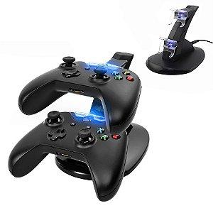Carregador Controle Xbox One Suporte Dock Vertical - Xbox One