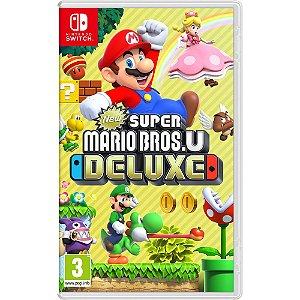 New Super Mario Bros U Deluxe - JÁ DISPONÍVEL - Nintendo Switch