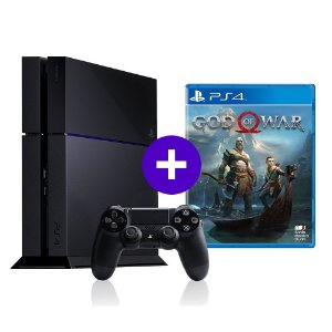 Console Playstation 4 Seminovo + God of War - OFERTA ESPECIAL - Sony
