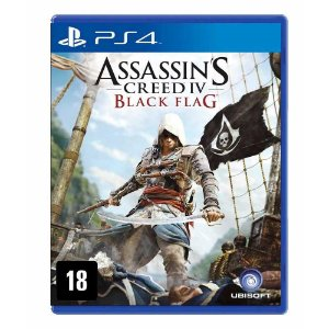 Assassin's Creed IV - Black Flag (Seminovo) - PS4