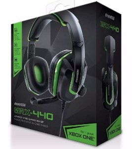 Headset GRX 440 Verde Xbox One Ps4 Switch