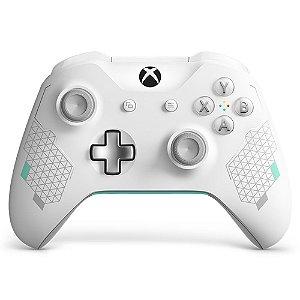 Controle Xbox One S - Edição Sport White - Microsoft