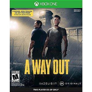 A Way Out (Seminovo) - Xbox One