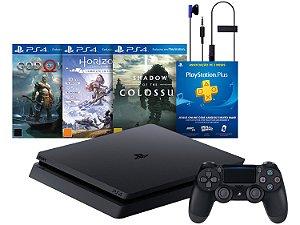 Console Playstation 4 Slim 1 Tera Bundle Hits - Promoção - Sony