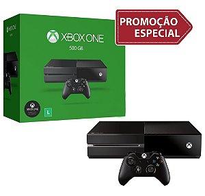 Console Xbox One 500 Gb (Seminovo) - Promoção - Microsoft