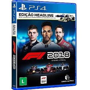 F1 2018 (Seminovo) - PS4