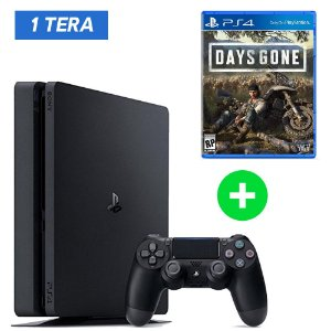 Console Playstation 4 Slim 1tb 1 Tera + Days Gone (Lançamento) - Sony
