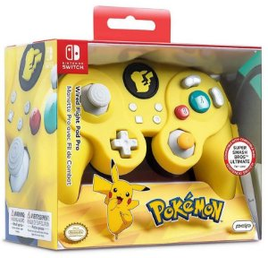Controle Com Fio Nintendo Switch Pdp Wired Fight Pad - Pokémon - Switch