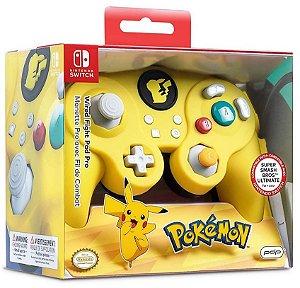 Controle Com Fio Nintendo Switch Pdp Wired Fight Pad - Pokémon - Switch