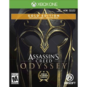 Assassins Creed Odyssey Steelbook (Seminovo) - Xbox  One