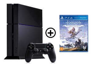 Console Playstation 4 Seminovo + Horizon Zero Dawn - OFERTA ESPECIAL - Sony