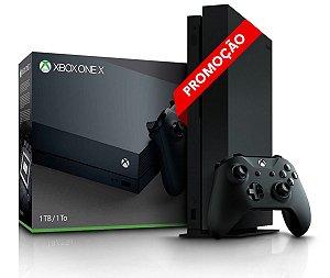 Console Xbox One X 1 Tera - 4k - Seminovo - Microsoft