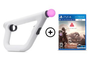 Controle Playstation VR Aim (Pistola) + Jogo Farpoint - PS4 VR