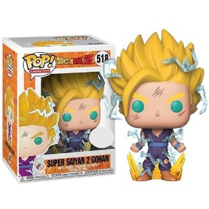 Funko Pop! Anime - Dragon Ball Z - Super Saiyan 2 Gohan #518