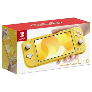 Console Nintendo Switch Lite Amarelo - Switch
