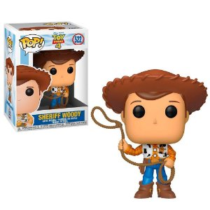 Funko Pop! Movies - Toy Story 4 - Sheriff Woody #522