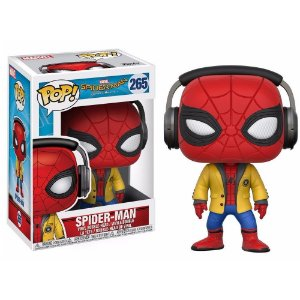 Funko Pop! Movies - Spider-Man De volta ao lar - Spider-Man #265