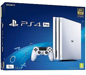 Console PlayStation 4 Pro 4k Branco - 1 Tera - Seminovo - Sony