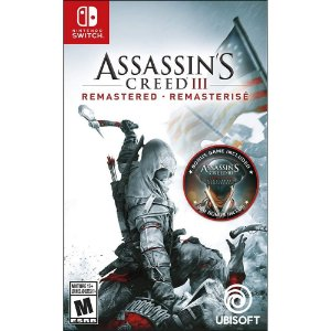 Assassins Creed III: Remastered - Switch