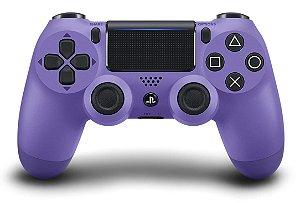 Controle Sony Dualshock 4 Roxo - Sem Fio - PS4