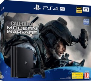 Console PlayStation 4 Pro 4k 1TB - Bundle Call Of Duty Modern Warfare - Sony