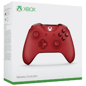Controle Xbox One S Vermelho - Microsoft