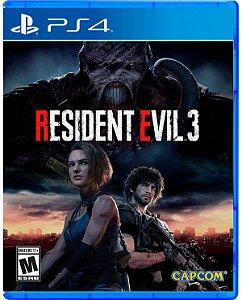 Resident Evil 3 (Já disponível) - PS4