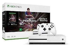 Console Xbox One S 1 Tera 1 Tb Bundle PES 2020 - Microsoft