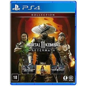 Mortal Kombat 11 Aftermath (Seminovo) PS4