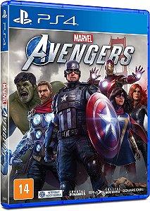 Jogo Marvel Avengers (Seminovo) - PS4