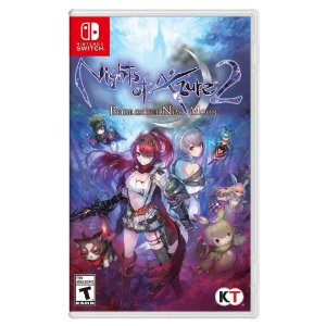 Nights of Azure 2: Bride of the New Moon (Seminovo) - Switch