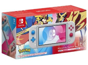 Console Nintendo Switch Lite Edição Pokemon (Seminovo) - Switch