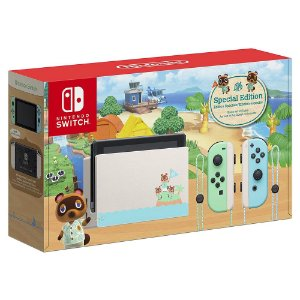 Console Nintendo Switch Animal Crossing Edição Limitada - Switch