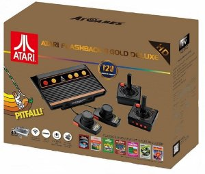 Console Retro Atari Flashaback 8 Gold Deluxe Edition