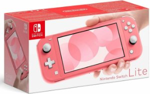Console Nintendo Switch Lite Coral - Switch