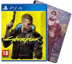 Cyberpunk 2077 (Steelbook Edition) - PS4
