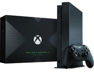 Console Xbox One X 1TB - Project Scorpio Edition (Seminovo)