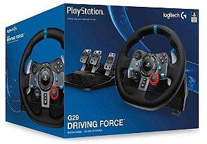 Volante Logitech G29 (Seminovo) - PS3 PS4 PS5