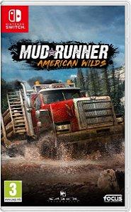 Spintires: MudRunner American Wilds (Seminovo) - Switch
