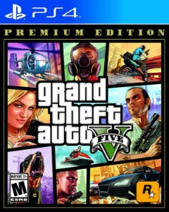 GTA - Grand Theft Auto V Premium Edition- PS4