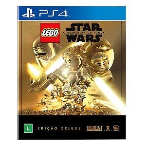 Lego Star Wars  o Despertar da Força  Edição Deluxe  PS4