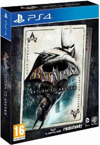 Batman - Return To Arkham - Edição Limitada - PS4