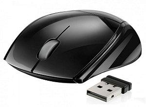 Mouse Sem Fio Multilaser Mo138 Preto, 3 Botões, Nano Receiver
