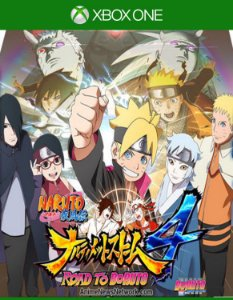 Naruto Shippuden - Ultimate Ninja Storm 4 Road To Boruto - Xbox One