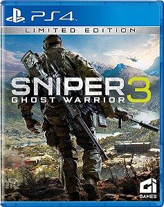 Sniper Ghost Warrior 3 - Edição Limitada - PS4