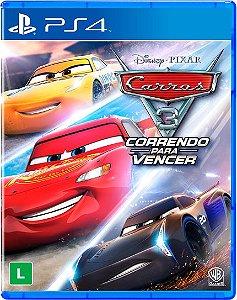 Carros 3 - Correndo Para Vencer - PS4