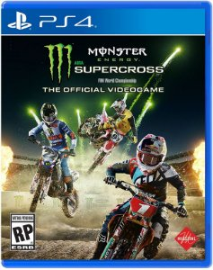 Monster Energy Supercross The Official Videogame PS4